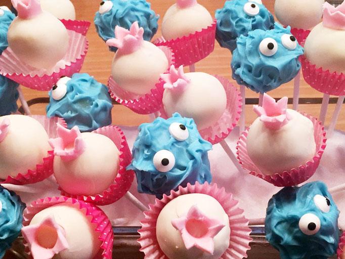 Catering Monster und Mächen Cake Pops