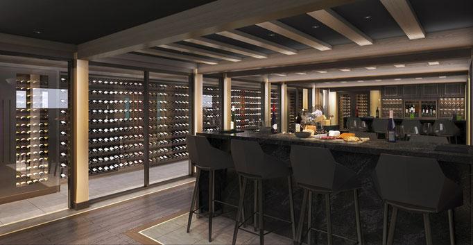 Wine & Cellar an Bord der MSC Seashore