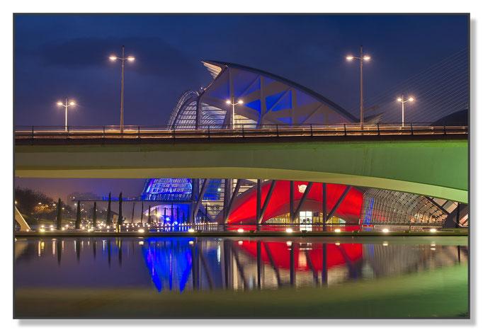 Stadt der Wissenschaft, Brücke und Museum