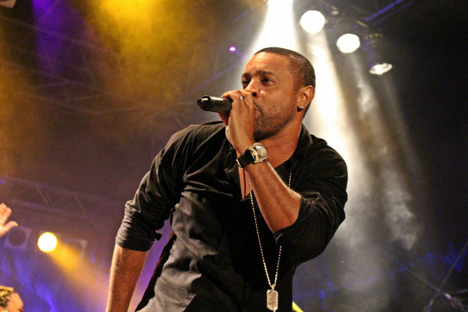Shaggy beim Reggae Jam 2014 (Bersenbrück)