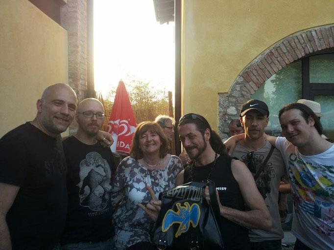 The Rock Alchemist with Freda Kelly 2014