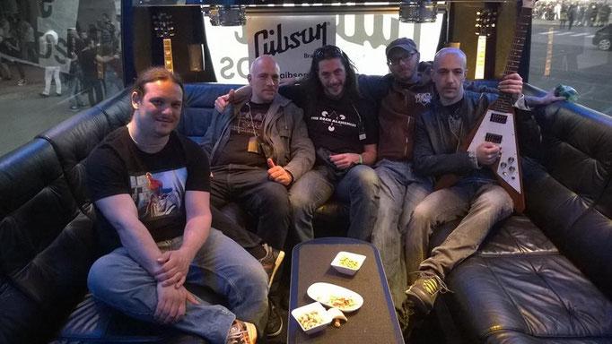 """The Rock Alchemist @ """"Tour Bus"""" 2015"""