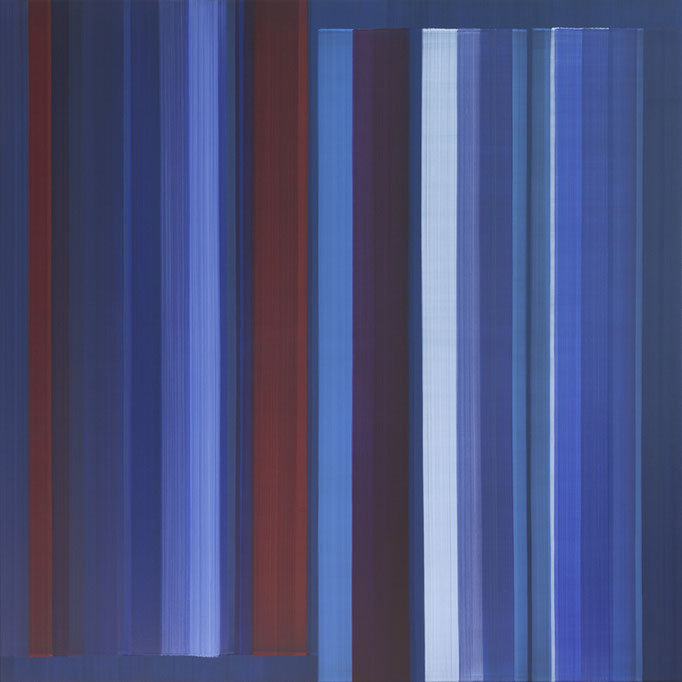 Elisabeth Sonneck, o.T., 2017, Öl auf Leinwand, 145 x 145 cm