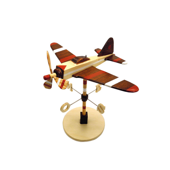 Modellino aereo segnavento