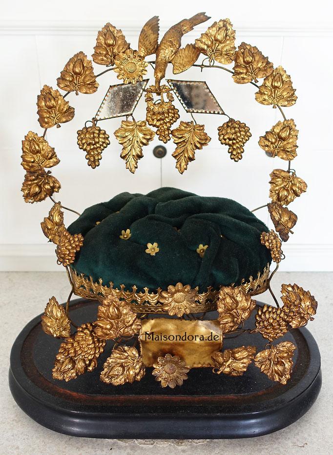Globe de Mariée Hochzeitsdom Frankreich 1870