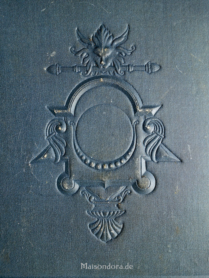 Antike Schreibmappe Napoleon III Moleskine
