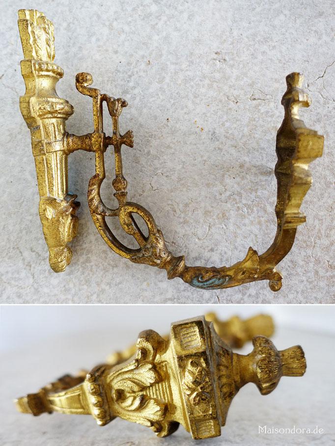 Antiker Haken Gardinenraffer Frankreich 1870