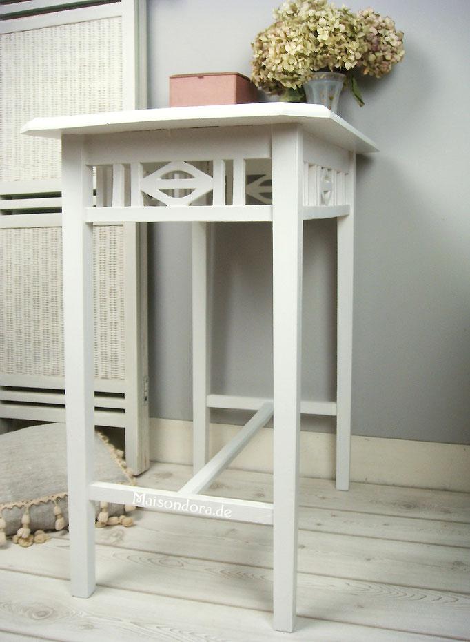 Antike Möbel Jugendstil Tisch weiss