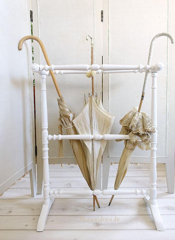 Antiker Ständer Handtuchhalter Frankreich 1900