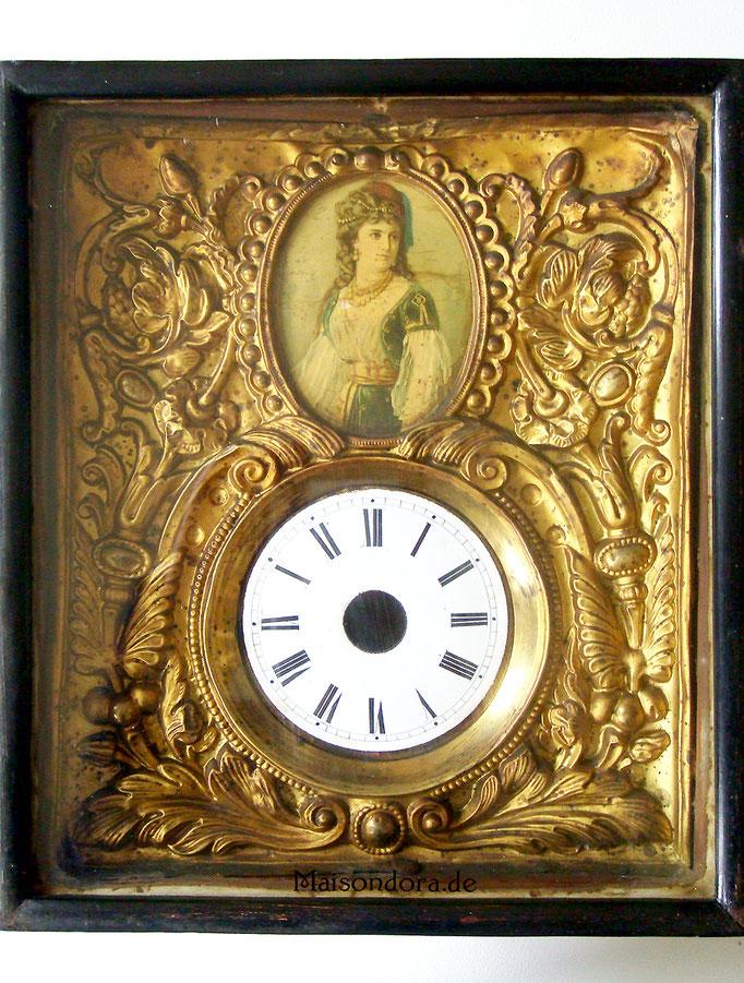 Antike Uhr Schilderuhr Gehäuse