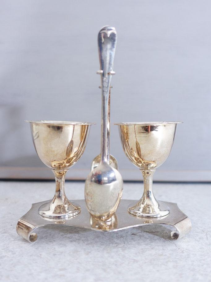 Antike Eierbecher Silber