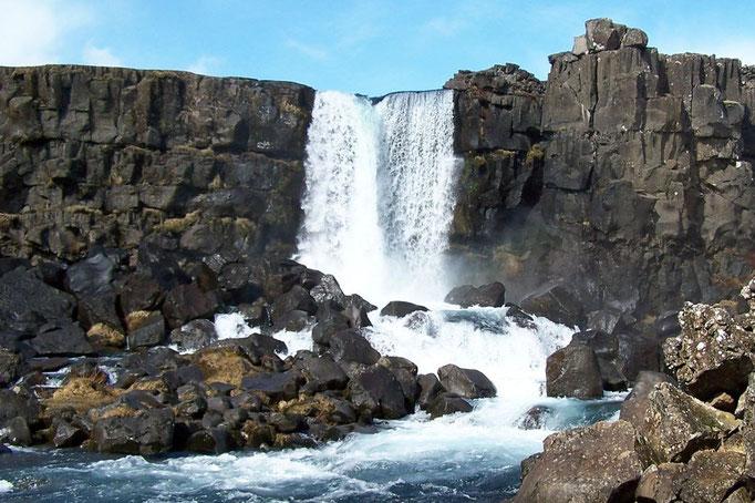 Großer Wasserfall Phingvellir