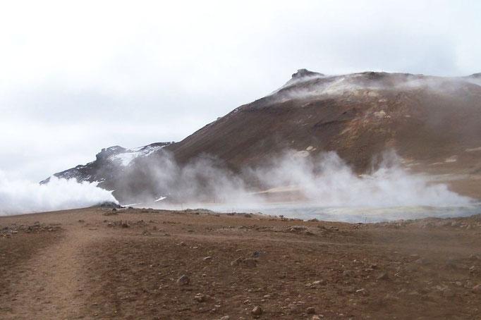 Solfatarenfeld Namaskaro (Mývatn)