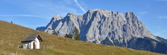Oktober - Zugspitze