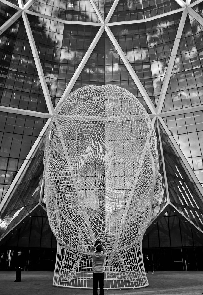 Bow Tower - Wonderland/Jaume Plensa - Calgary - Alberta - Canada - Swhitdream