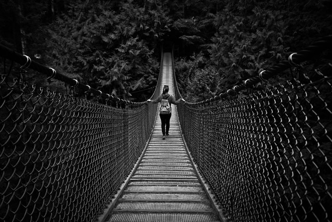 Lynn Canyon Suspension Bridge - Vancouver - Colombie Britannique - Canada - Swhitdream