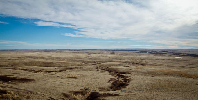 Head-Smashed-In Buffalo Jump World Heritage Site - Fort MacLeod - Alberta - Canada - Swhitdream