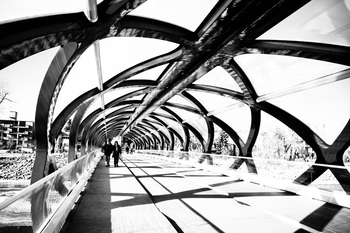 Peace Bridge - Calgary - Alberta - Canada - Swhitdream