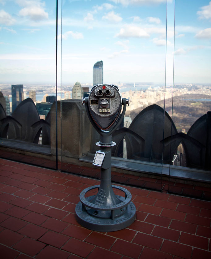 Top of the Rock - Rockefeller Center - New York - Etats-Unis - Swhitdream