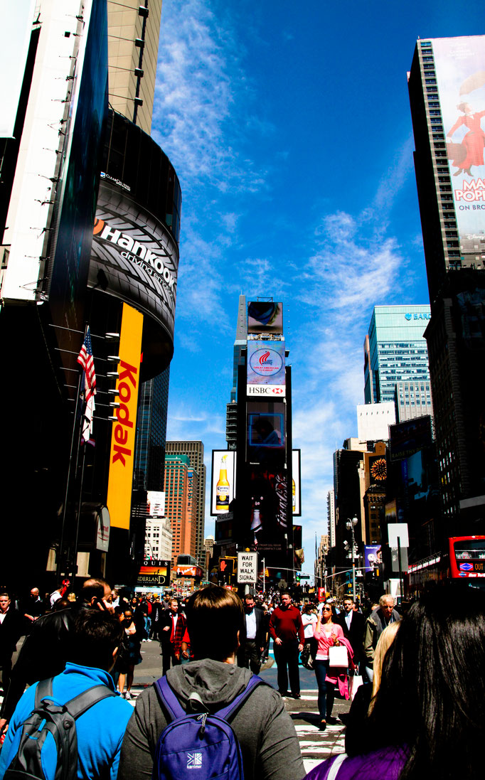 Times Square - New York - Etats-Unis - Swhitdream