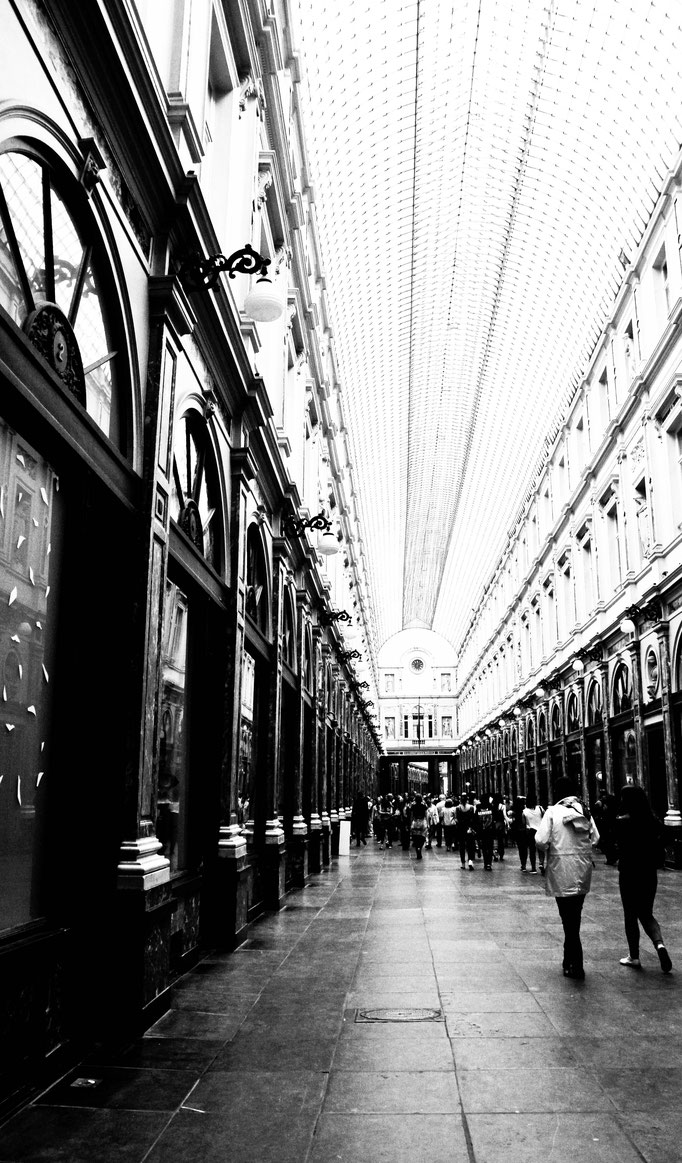 Galeries Royales Saint-Hubert - Bruxelles - Belgique - Swhitdream