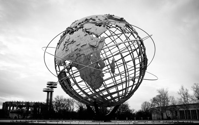 Unisphere - Flushing Meadows Corona Park - Queens - Etats-Unis - Swhitdream