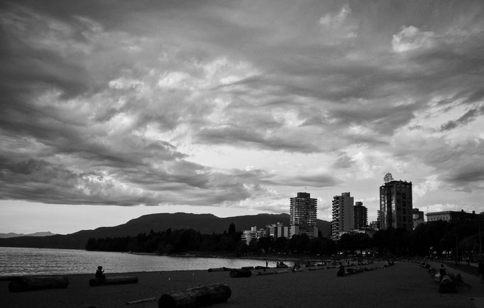English Bay Beach - Vancouver - Colombie Britannique - Canada - Swhitdream