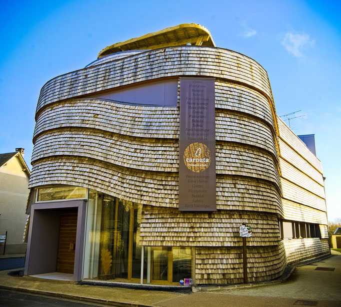 L'architecture de Carnuta