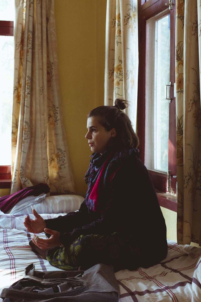 Zimmergenossinnen, Kloster Kopan, Nepal