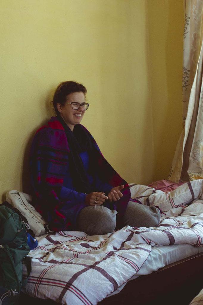 S., Zimmergenossinnen, Kloster Kopan, Nepal