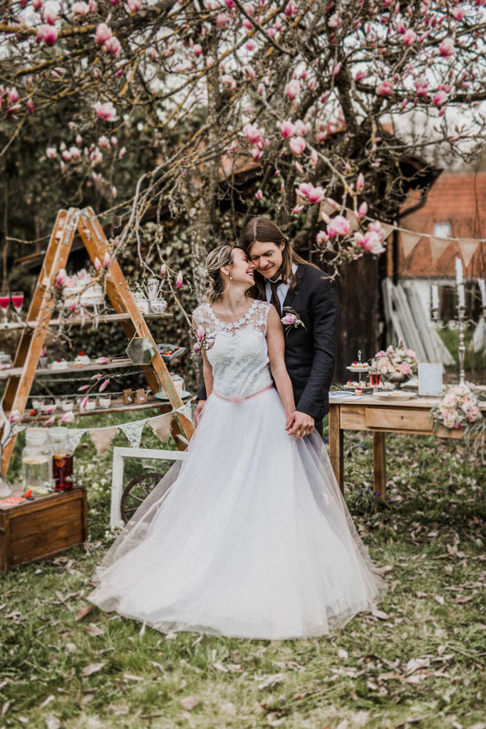 Brautkleid Tüllrock