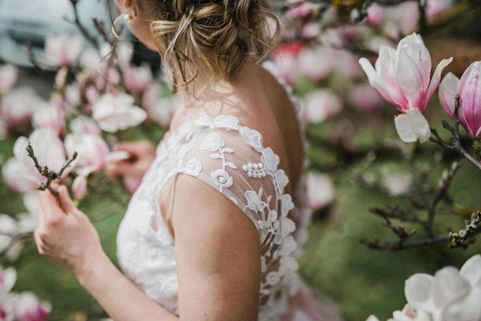 Vintagekleid Hochzeit