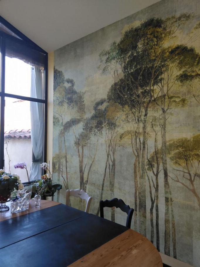 marie saikipapier peint villefranche beaujolais lyon forêt