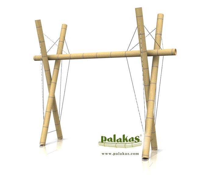 Rack tensegrity ©Palakas