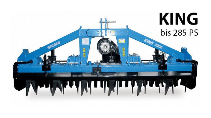 Sicma Kreiselegge King | Medl GmbH - Landtechnik Großhandel