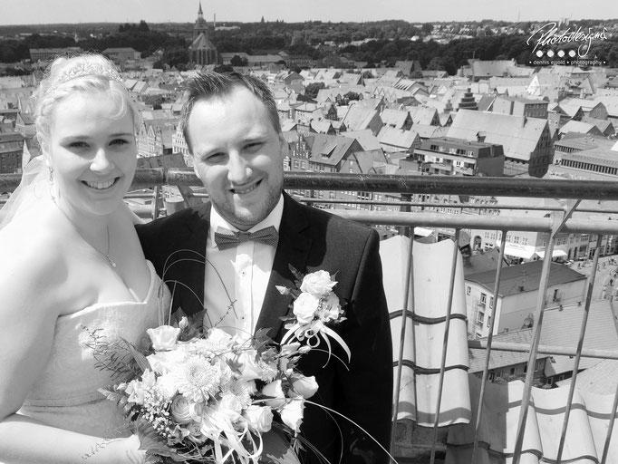Fotografie Hochzeit Wasserturm
