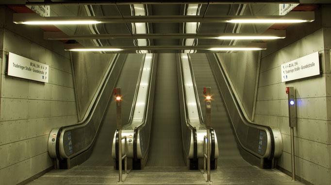 U-Bahnstation München Trudering