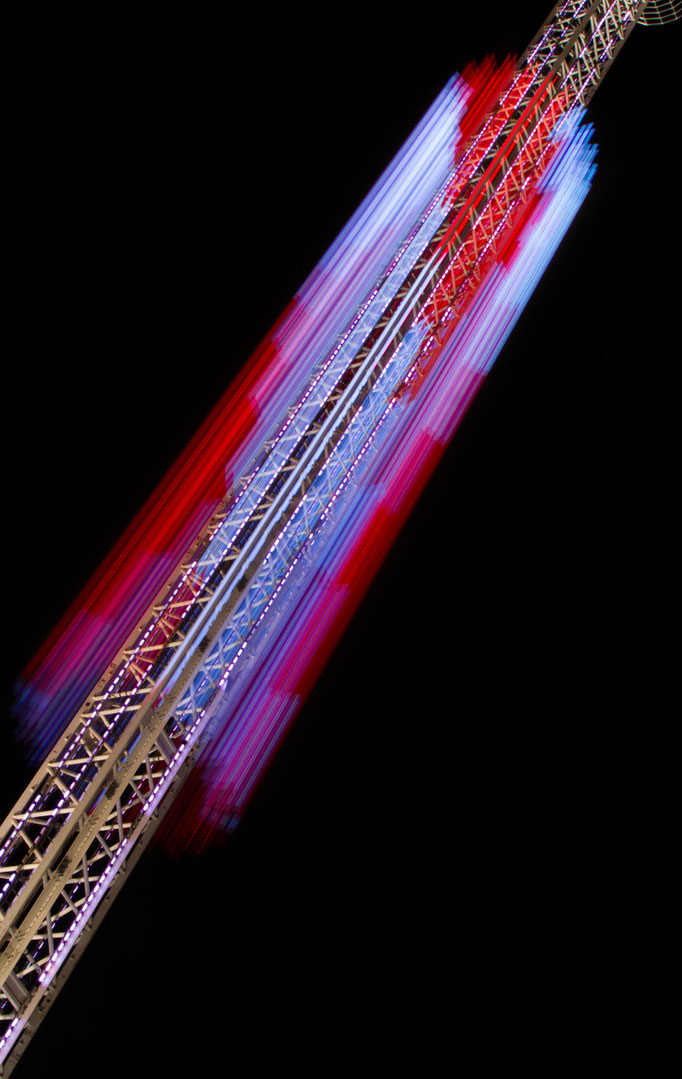 Freefalltower auf dem Oktoberfest, September 2015