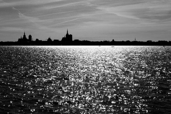 Rügen - Blick auf Stralsund - April 2018