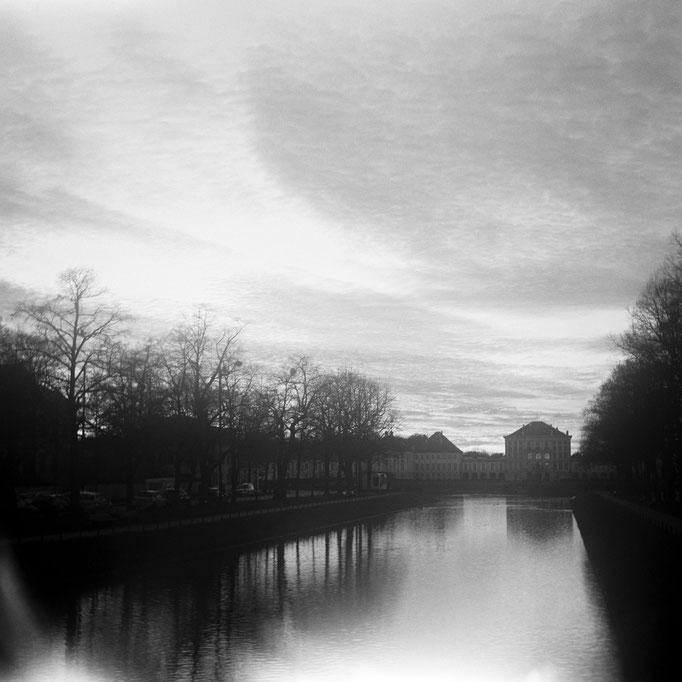 Schloss Nymphenburg und der Schlosskanal