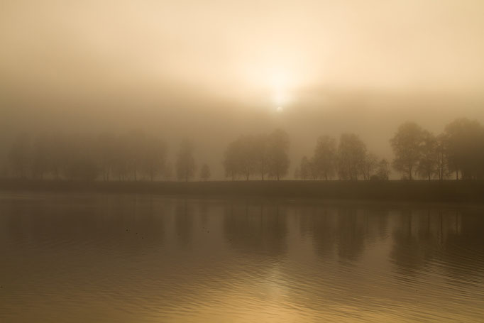 Herbstnebel am Staffelsee, November 2015