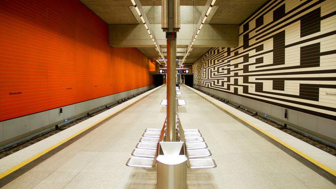 U-Bahnstation München Oberwiesenfeld