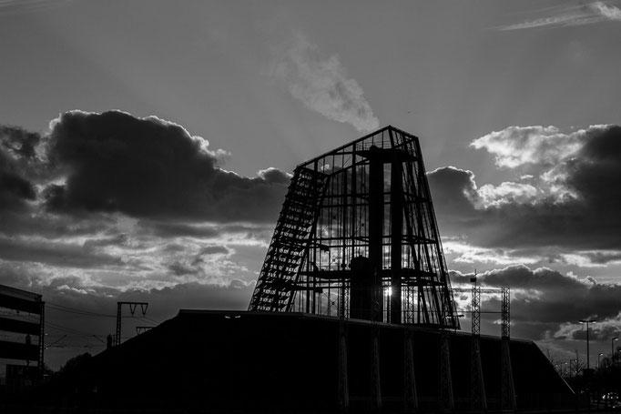 Das Geothermie-Kraftwerk in München-Freiham, September 2015