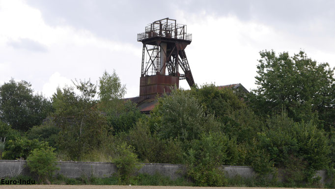 Grube 5(1904-1965)-zuletzt Wetterschacht für die Grube 3/4 Lens