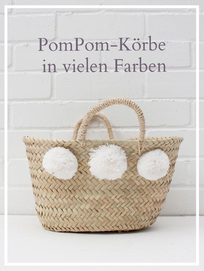 Wäschekörbe, Marktkörbe, Osterkörbe -- handgemachte Korbwaren in vielen Formen und Farben