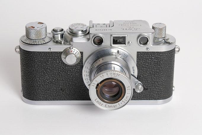 Leica IIIf aus 1951, eine meiner Lieblingskameras
