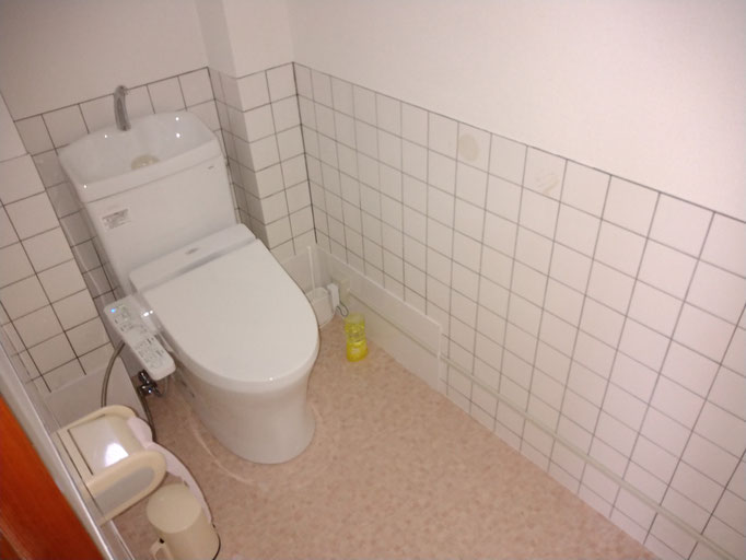 和式トイレを洋式トイレにリフォーム