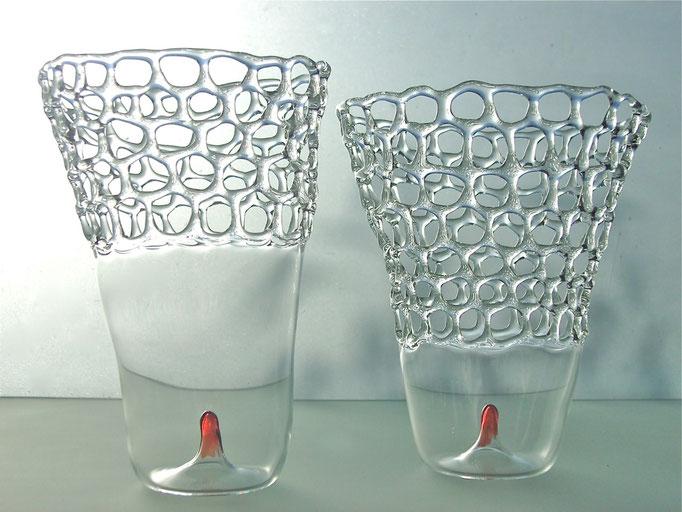 Netz-Vase 1und2