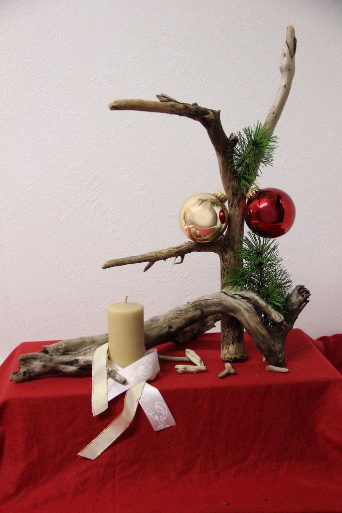 Treibholzdeko Advent