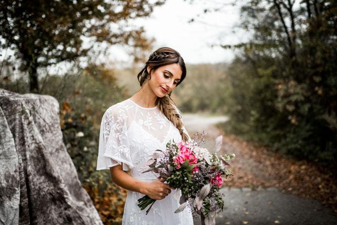 Braut-Make-Up Freising Airbrush